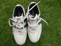 COTSWOLD WHITE LEATHER GOLF SHOES