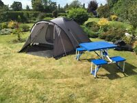 4 Man Tent - Two Skin Premium Tent - Immaculate condition.