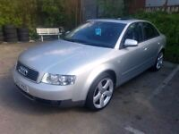 Audi A4 2.0 petrol auto 68000 miles so very low, perfect running order automatic family car