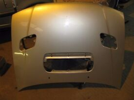 Impreza WRX Turbo 2000 Facelift Steel Vented Bonnet Silver