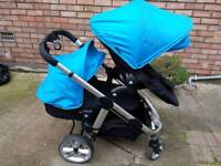 ICandy apple 2 pear double buggy/pram