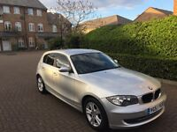 BMW 1 SERIES 1.6L FULL SERVICE HISTORY ALL STAMPS MOT DUE APRIL 2018 HPI CLEAR MILEAGE 82,049 CLEAN