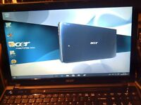 ACER ASPIRE 5553 : QUAD CORE :WIN 7 64 BIT : LIKE NEW :Owner passed away so had little use
