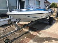 Fletcher speedboat 16.5ft 60hp outboard