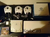 Dreamcast Console with games and accessories bundle