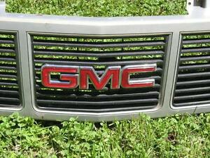 SILVER GMC C/K 1500 PICKUP TRUCK FRONT GRILLE !