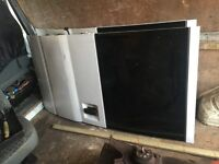 ford transit double cab pick up rear doors complete £100 the pair