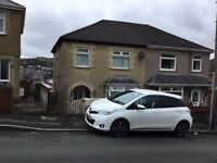 Semi detached house in St.Thomas for rent-£550 per month