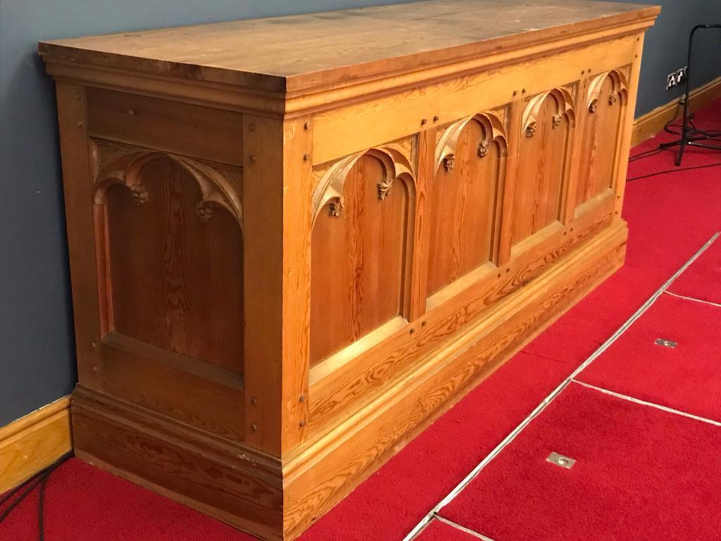 church clearance - large communion table | in holywood, county down