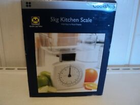 Kitchen scales,new in box