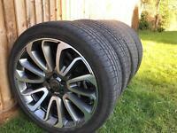 Range Rover 22inch alloys