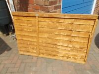 SECTION OF FENCE PANEL