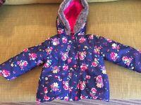 Girls coat aged 18-24 months john lewis