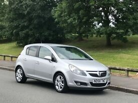 2008 58 VAUXHALL CORSA SXI 5DR 93K 1.2 PETROL A/C +NEW TIMING CHAIN+LOOKS & DRIVES GREAT++