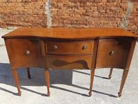 Mahogany Dining room Sideboard - Project or Shabby Chic - Strong Quality Furniture
