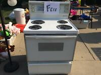 Free older stove - works great!