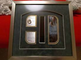 Lord of the Rings Film Cell with Ring