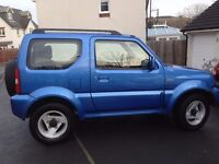 SUZUKI JIMNY SPECIAL 73K TOTALLY RELIABLE AND IN LOVELY CONDITION MOT 31/7/17 IN METALIC BLUE.
