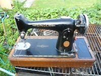 Singer semi industrial sewing machine Model 201K