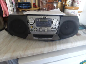 Sony Radio, CD and Cassette Player