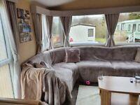 Sited static caravan ,cumbria
