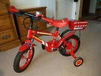 fireman sam kids bike for sale