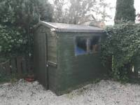 8ft x 6 ft shed