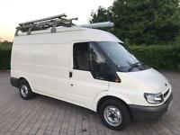2005 Ford Transit 2.0 TDCi 280 100 BHP, MWB VAN, TOW BAR, ROOF RACK, NO VAT (Connect Fiesta)
