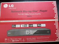 LG Network Blu-Ray Disc Player - Model BD370 Full HD1080p Picture Quality