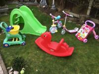 Six Outdoor / Indoor Toys. £20 The Lot.