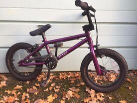 Kids Blank 14 BMX Purple