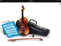 American girl doll violin set