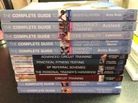 PT reference books x 12