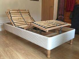 Single motorised 3ft bed in excellent condition