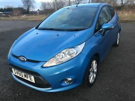 60 REG FORD FIESTA ZETEC IMMACULATE CONDITION ONLY £2999