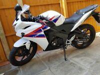 Honda cbr 125cc 2013