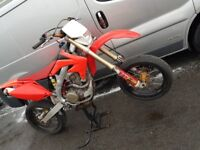 Crf450 supermoto road legal