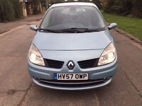 2007 Renault Grand Scenic 7 Seater Diesel Manual with only 66685 miles