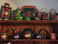 Hand painted canal barge ware