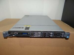 "Dell PowerEdge R610 Server - 2x Xeon 6 Core 3.33GHz (X5680) - 32GB RAM  6X147GB SAS 15K 2.5"" Hard Drives- RAID"