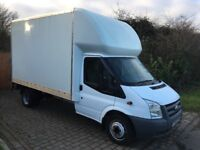 Ford transit Luton 115t350 12,6ft with tail lift 2010 151,000 miles 1 owner