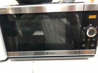 Hotpoint stainless steel microwave oven in excellent new condition!!!