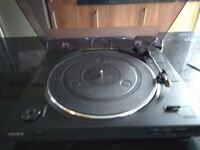 Sony stereo turntable system ps-lx300usb, turntable only. Full working order.