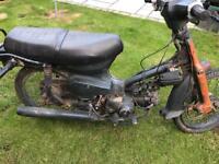 Honda c90 moped
