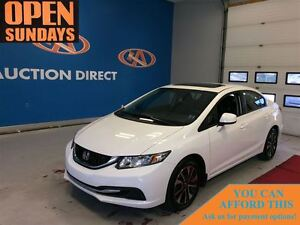 2013 Honda Civic EX (M5), ALLOYS, SUNROOF, BLUETOOTH, HEATED SEA
