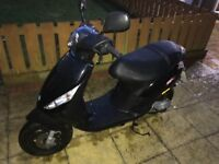 Piaggio zip 50cc moped 2016 - very good condition, also comes with 2 types of locks and a rain cover