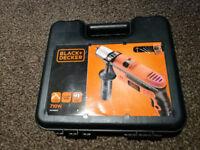 Black & Decker 710w Impact Drill + Stud Sensor Detector