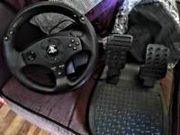 Thrustmaster T80 steering wheel & pedals PS4/PS3