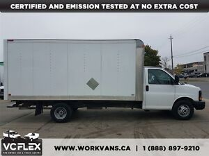 2012 GMC Savana G3500 16Ft V8 Gas + Ramp