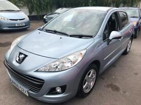 Peugeot 207 1400 petrol car new mot and new service on sale 2 keys lovely drive